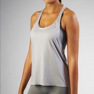 Women's Gymshark Tech Vest Silver Gray